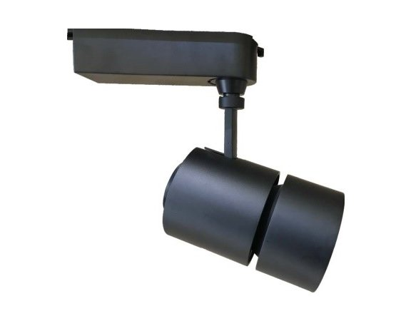 Resturant black color cob led 30W tracklighting